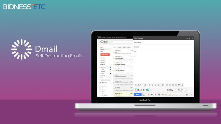 extensiones de chrome Dmail